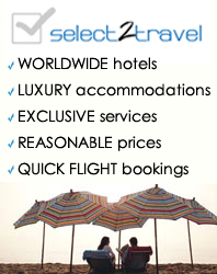 select2travel helps global travelers to prove quick, secure, reasonable online-bookings for hotel, flight ticket, destination information and car rental